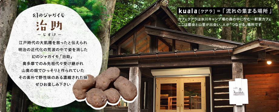kuala[クアラ]=「流れの集まる場所」